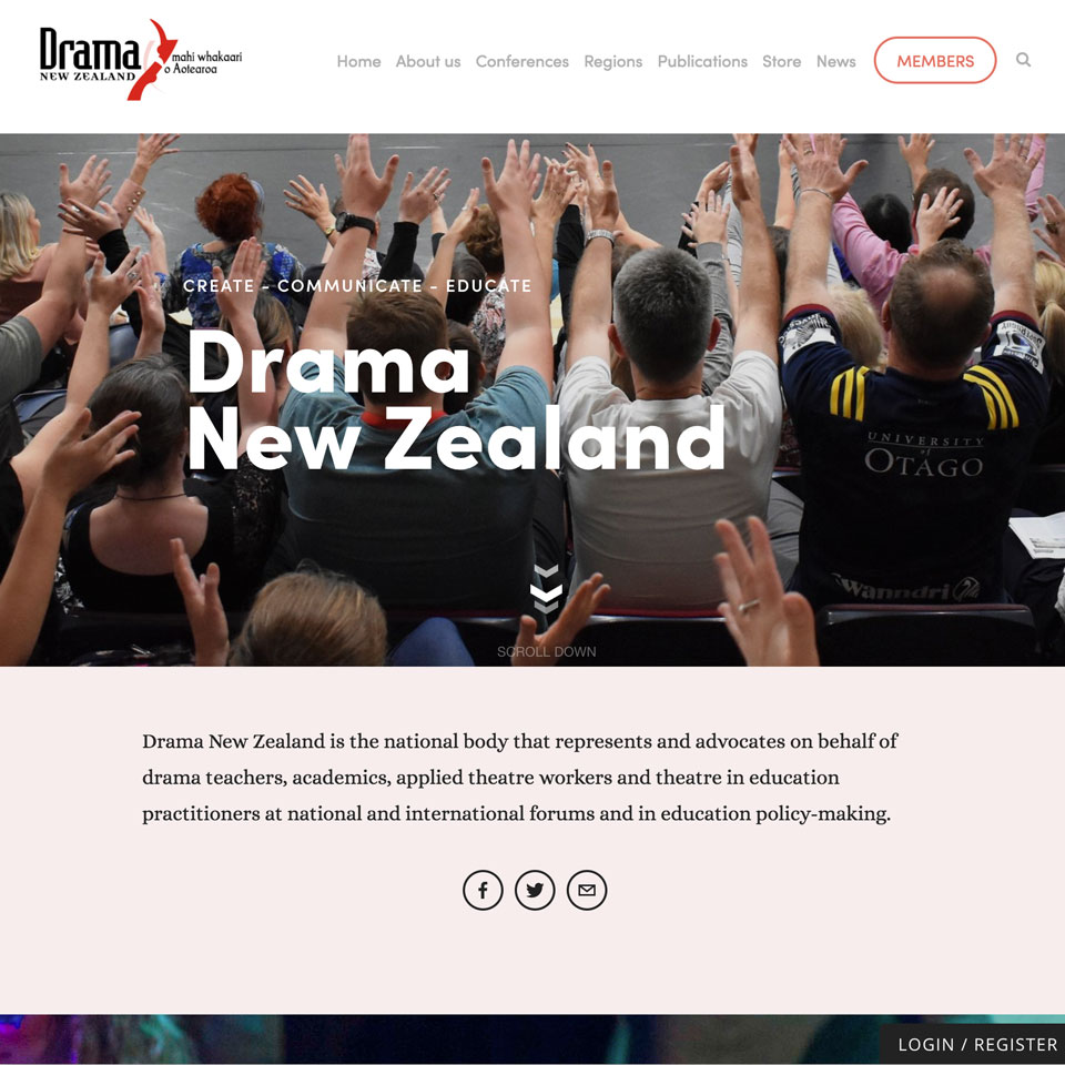 Drama NZ's Cover